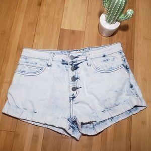 Forever 21 Bleach Washed Jeans